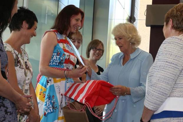 Dora Adeline presents 'Granny Grommet and Me' to HRH