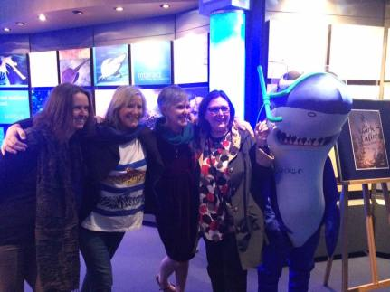 meg, frane, di, shark and kris