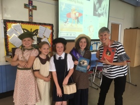 Alice and friends from St Vincents Altrincham